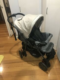 Steelcraft Acclaim Eclipse Reverse Handle Stroller-excellent condition