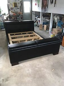 """Queen bed frame 60"""" with 2X4 wood supports"""