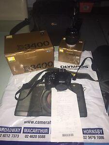 Nikon d3400 digital camera DSLR SLR Currans Hill Camden Area Preview