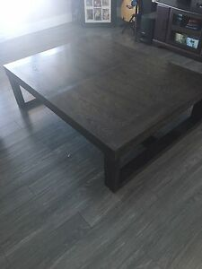 Extra large coffee table, end table & matching Sofa table .