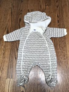 Nordstrom Baby Bunting Suit Size 3 Months