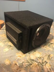 Kenwood Subwoofer, Amp, Box