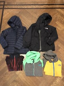 Boys jackets and hoodies, size 6, sold as a lot