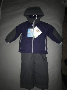 Snowsuit (Children's Place)Mitts and hat (brand new)