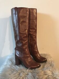 Brand new real leather ALDO boots