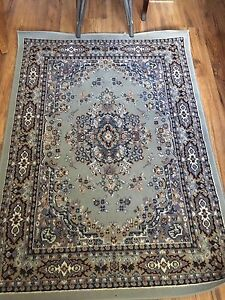 Light blue Area rug 3 1/2' by 5'