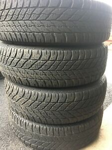 4-235/75R15 Good Year winter tires