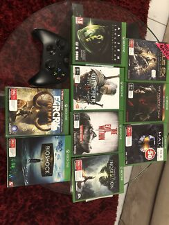 Wanted: Xbox one with lot of great games !!!!