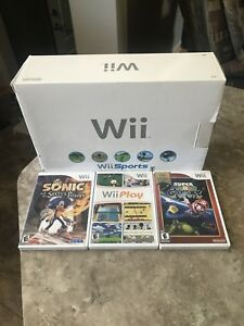Nintendo Wii With Games