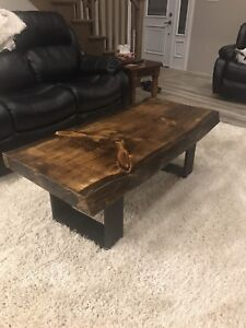 Live Edge Pine Coffee tables