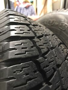 4x maxtrek tyres 255/70/16 Youngtown Launceston Area Preview