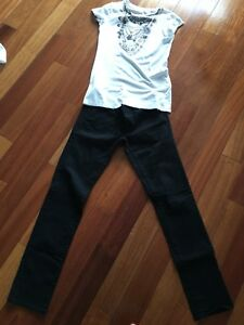 Armani Exchange jean and t-shirt