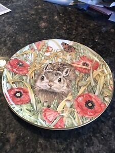 """""""The Hare"""" 7"""" serving plate"""