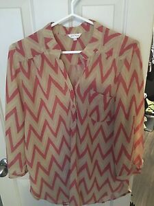 Stella and Tweed long blouse