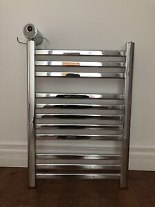 Mr Steam towel warmer - electric - polished chrome - like NEW