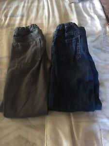 Boys size 14 adjustable waist pants and Jeans