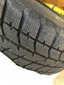 Ford Edge Winter tires, Bridgestone Blizzak tire