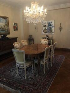 Table salle à manger Antique Louis XV