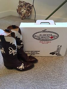 Woman's Butterfly Cowboy boots