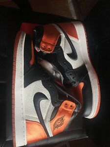 Air Jordan 1 high satin shattered backboard size 7 mens/8 womens
