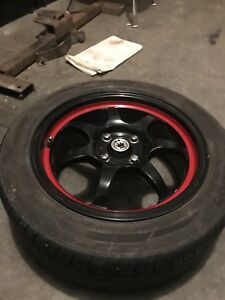 15 inch rims with tires 4x100 wheels