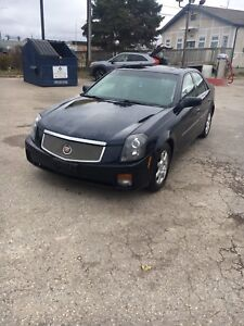 2007 caddy Cts safetied,$3500 remote starter.