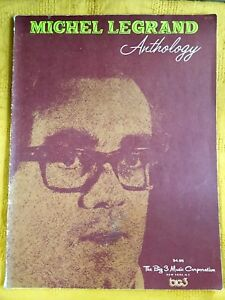 Michel Legrand - Anthology (song Book) (c) 1971
