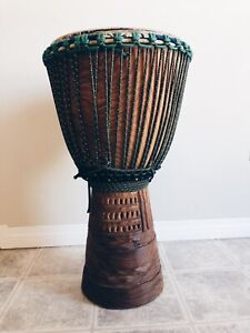 Authentic west African djembe drum 14""