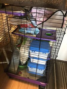 """Large """"Kaytee"""" brand cage for small pets"""