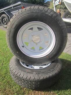 "Sunraysia 14"" Trailer Rims and LT Tyres Heathridge Joondalup Area Preview"