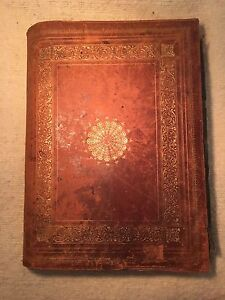 Antique travel book / Livre voyage antique circa 1869