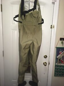 Streamside waders size large