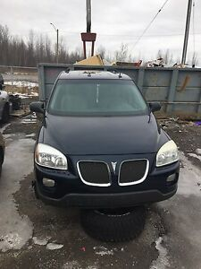 Parting out 2005 Pontiac Montana