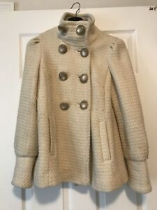 Guess pea coat size small