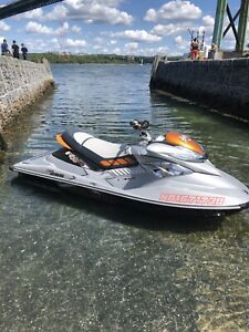 2009 rxp x 255hp supercharged seadoo & trailer