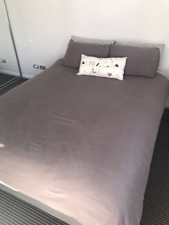 OMF Comfortline Queen Bed (mattress and base)