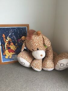 Giant teddy and Winnie the Pooh picture Adamstown Newcastle Area Preview