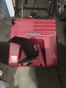 "Murray 21"" single stage snowblower / thrower"