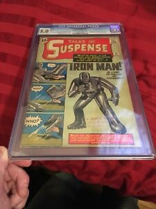 Tales of Suspense 39: 1st Iron Man Ever CGC 5.0