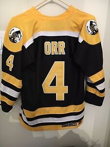 Bobby ORR jersey for sale 50th anniversary jersey