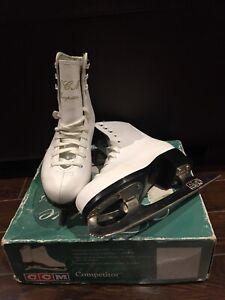 Girl's Figure Ice Skates