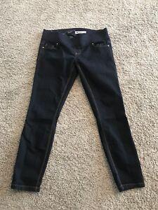 New Look Maternity dark wash skinny jeans L