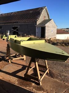 8 ft trout boat and motor