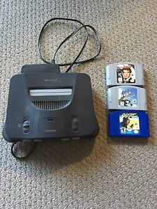 N64 Nintendo 64 console and games no controllers