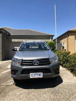 2017  Toyota HiLux  workmate Craigieburn Hume Area Preview
