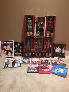 One direction Dolls,books, DVDs