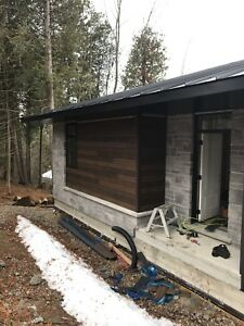 Faux wood siding aluminum