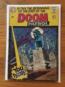 Doom Patrol # 121 vol. 1 finale