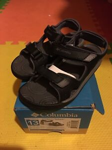 Brand New Columbia sandals for boys size 13