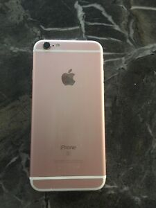 IPhone 6s - rose gold 64gb - new screen new battery